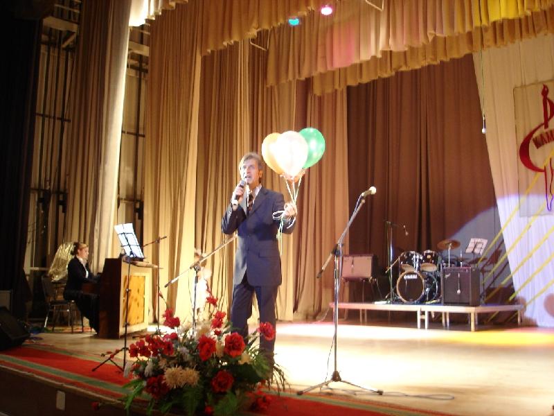 Валерий Серебренников. Концерт в Мегионе.